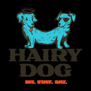 Hairy Dog Logo - Deep Fried